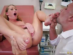this gyno has a huge client list tube porn video