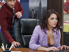 Valentina Nappi & Michael Vegas in All Natural Intern - Brazzers tube porn video