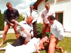 Bride, Bride, Gangbang, Peeing, Pissing, Wedding