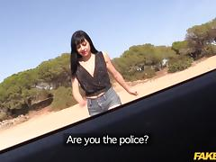 Damaris in Cop Gets Anal Sex in Spanish Hotel - FakeCop porn tube video