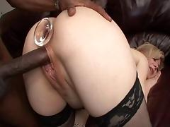 Incredible pornstar Nina Hartley in best interracial, anal xxx movie