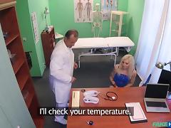 Vanessa Sweet in Tattooed Blonde Loves Doctor's Dick - FakeHospital