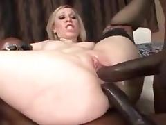 Cute blonde get fucked