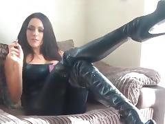 Latex, Amateur, Latex, Leather, Sex, Smoking