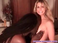Cuckold Sissy Secrets Watching my wife with BBC bull porn tube video