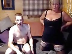 Webcam, Blowjob, Couple, Mature, Webcam