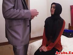 Arab habiba fucked like a whore for cash porn tube video