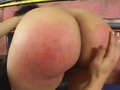 Her Big Round Ass Gets Spanked !!!