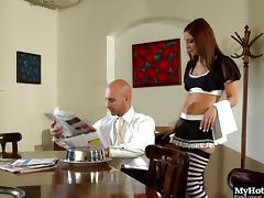 She's a sexy maid whose hole requires a dose of the deep stuffing porn tube video