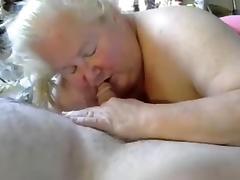 Nice blow job from BBW granny 2 porn tube video