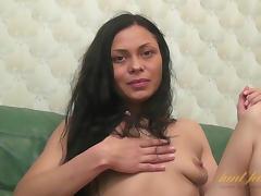 Brunette, Brunette, Masturbation, Mature, Small Tits