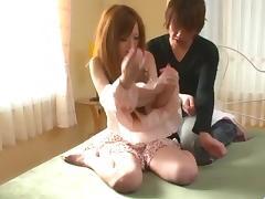 Mami Masaki starts having sex on cam in harsh ways