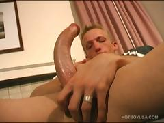 Monster Cock Daxter Jacking Off