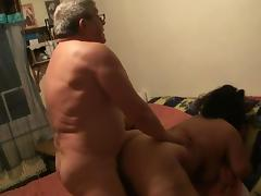 BBW and Older Guy 2 of 3