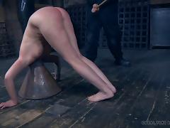 She's been very naughty lately and it's time for the BDSM punishment