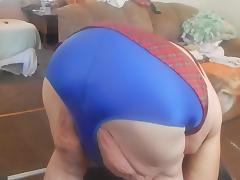 blue panties and cleaning took them off to tease porn tube video