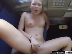 Public Sex on Trains guy's lucky travel companion
