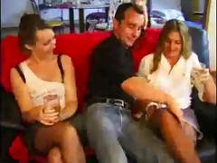 2 french swingers couples fucking tube porn video