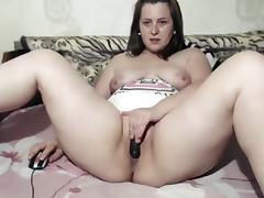Italian Amateur, BBW, Big Tits, Brunette, Masturbation, Solo