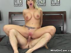 Britney Amber in Busty Blonde Britney Live - WildOnCam tube porn video