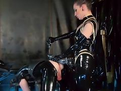Rubber Cock Monster Starring Cybill Troy porn tube video