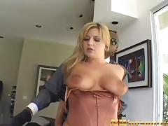 juicy blonde milf big tits fucked with black cock porn tube video