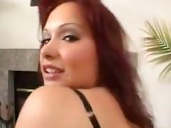 Katja Kassin interracial gang bang