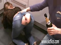 Extreme anal fist fucked amateur milf
