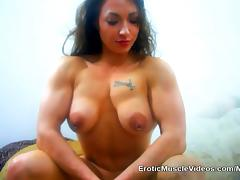 Big Titties and Massive Muscles Bulging Out Of Mini Dress porn tube video