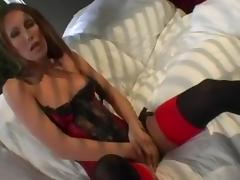 Stuck Up Bitch Taught Lesson With Cocks