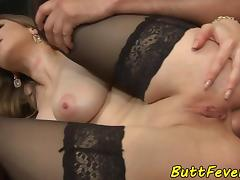 Bigtit euro babe assfucked and gives bj porn tube video