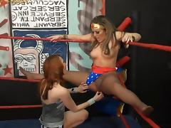 Pantyhose Wrestling at Clips4sale.com