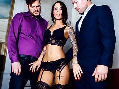 Nikita Bellucci, Freddy Fox, Yanick Shaft in A French Affair,  Scene 1 - DigitalPlayground porn tube video
