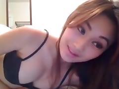 Cute asian webcam porn tube video