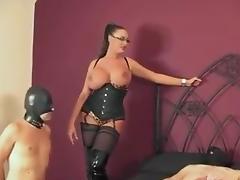Georgeus Dom With BI slave porn tube video