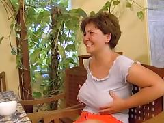 Horst fucks his chubby Hungarian wife for Breakfast porn tube video