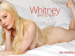 Whitney in Why So Shy? - MCNudes