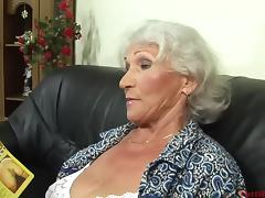 Casting, Audition, Casting, European, Granny, Hairy