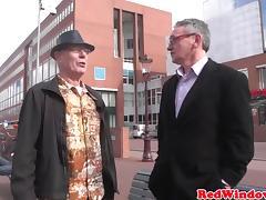 Pussyeaten amsterdam hooker enjoys tourist tube porn video