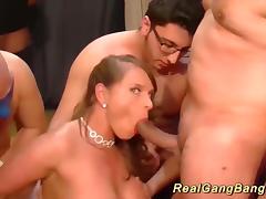 Bukkake, Amateur, Anal, Assfucking, Banging, Big Tits