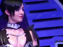 Sexy cosplay porn tube video