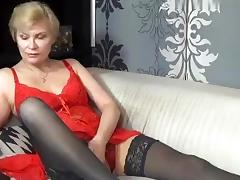Italian Amateur, Kinky, Masturbation, Mature, Solo, Stockings