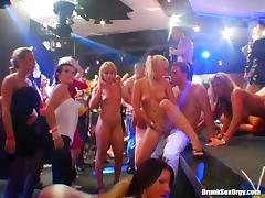 Randy European bitches get fucked in a full nightclub porn tube video