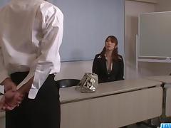 Araki Hitomi busty milf gets ready for hardcore sex porn tube video