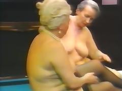 Granny Lesbian, Granny, Hairy, Lesbian, Mature, Old