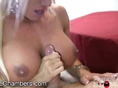 Ashlee Chambers Blowjob and Cumshot porn tube video
