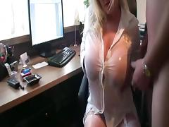 Pissing on my dirty boss porn tube video