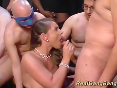 Bukkake, Banging, Big Tits, Boobs, Bukkake, Gangbang
