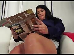 Bbw mature whore with huge ass gets her anus stretched porn tube video