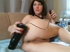 Webcam milf anal dildo masturbation porn tube video